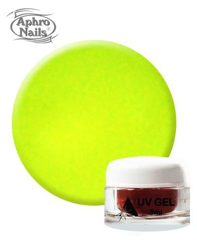 Aphro Nails colour gel Neon Yellow 5ml